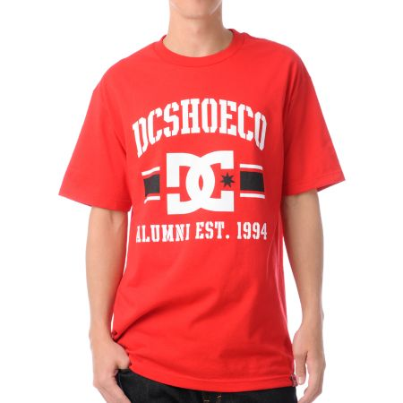 DC Dyrdek Alumni Red Tee Shirt