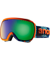 Anon Comrade Rally Blue & Orange 2013 Snowboard Goggles