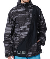 Lib Tech Recycler 2013 Black 10K Snowboard Jacket