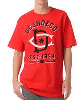 DC Dyrdek Throwback Red Tee Shirt