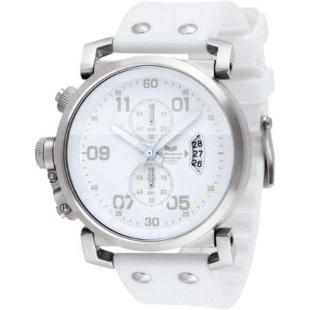 Vestal USS Observer White Chronograph Watch