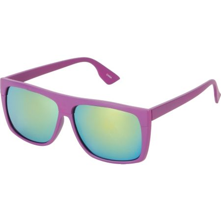 Jack Martin Cube Steak Matte Purple Sunglasses