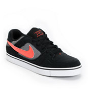 Nike SB Zoom P-Rod 2.5 Black & Sunburst Suede Skate Shoe