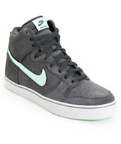 Nike SB Dunk High LR Anthracite, Medium Mint & Neutral Grey Shoe