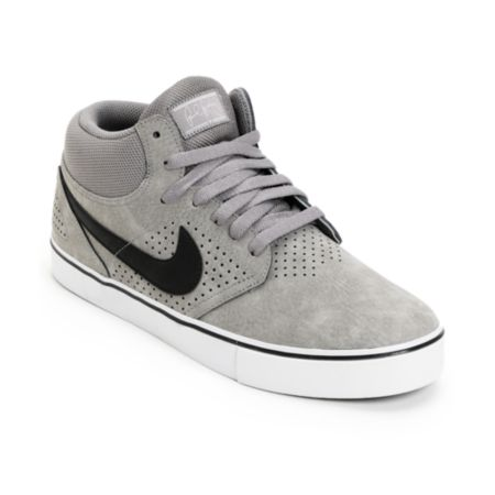 Nike SB P-Rod 5 Mid LR Soft Grey, Black & Neutral Grey Skate Shoe
