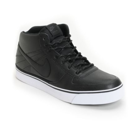 Nike Mavrk Mid 2 Black, Anthracite & White Skate Shoe
