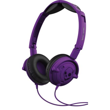 Skullcandy Purple Lowrider Headphones