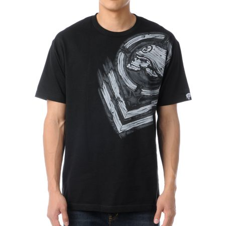Metal Mulisha Splinter Black Tee Shirt