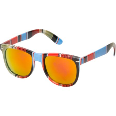 Jack Martin Frisky Business Mexi Blanket & Fire Sunglasses