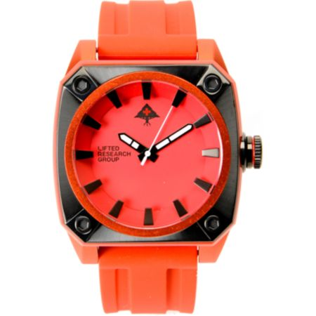 LRG Gauge Red Analog Watch