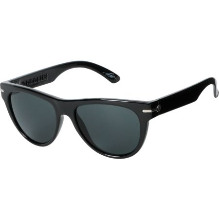Electric Acrolux Gloss Black & Grey Sunglasses