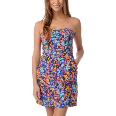 STS Blue Pop Art Tube Dress