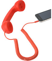 Native Union POP Retro Phone Handset in Red