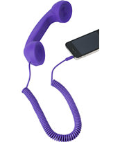Native Union POP Retro Phone Handset in Purple