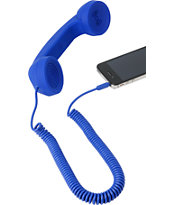Native Union POP Retro Phone Handset in Blue