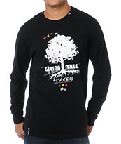 LRG Core Collection Nine Black Long Sleeve Shirt
