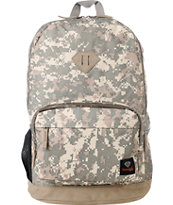 Diamond Supply Co. School Life Grey Digi Camo Laptop Backpack