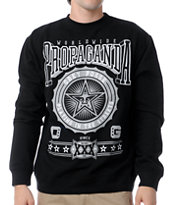 Obey Pro Bowl Black Crew Neck Sweatshirt