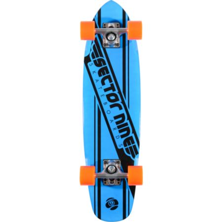 Sector 9 76 Blue 28 Cruiser Complete