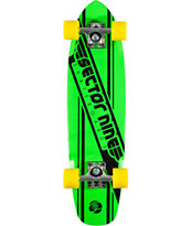 Sector 9 76 Green 28 Cruiser Complete