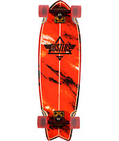 Dusters Kosher Red 32.5 Complete Cruiser Skateboard