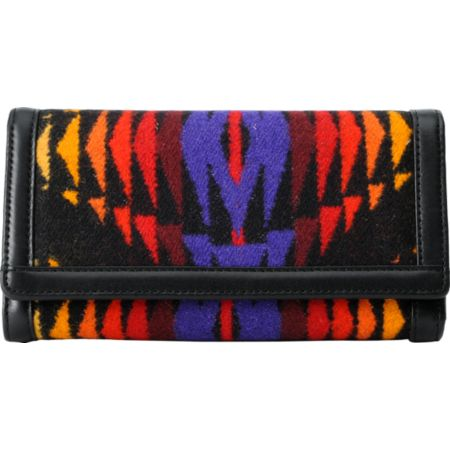 Pendleton Black Checkbook Wallet