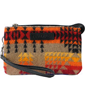 Pendleton Three Pocket Clutch Bag