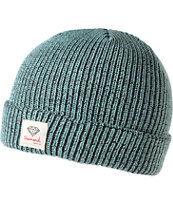 Diamond Supply OG Sign Speckled Mint Fold Beanie