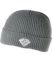 Diamond Supply Brilliant Grey Fold Beanie