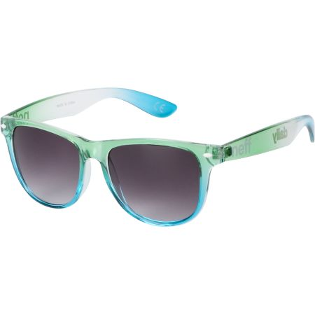 Neff Daily Blue & Green Crystal Sunglasses