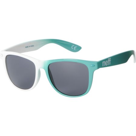 Neff Daily Teal & White Sunglasses
