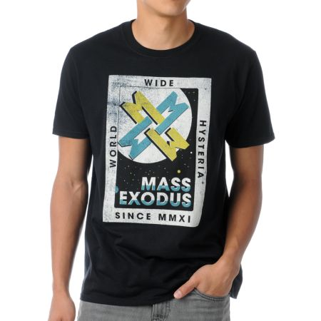 Mass Exodus Innovation Black Tee Shirt