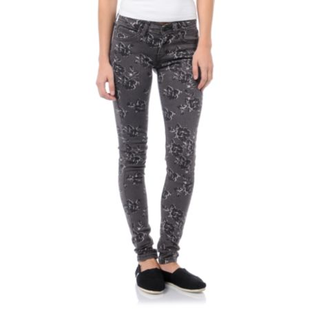 Levis Girls Bitter Rose Floral Print Jeggings