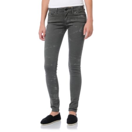 Levis Girls Silver Smoke Grey Jeggings