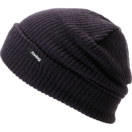 Analog Burglar Purple Knit Beanie