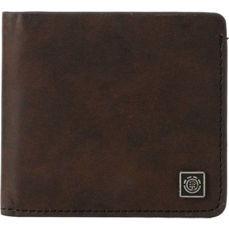 Element Shasta Moon Brown Bifold Wallet