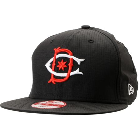 DC Ripper Ripstop Black New Era Snapback Hat