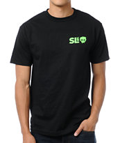Zero Skateboards Street League Series Cobra Black Tee Shirt