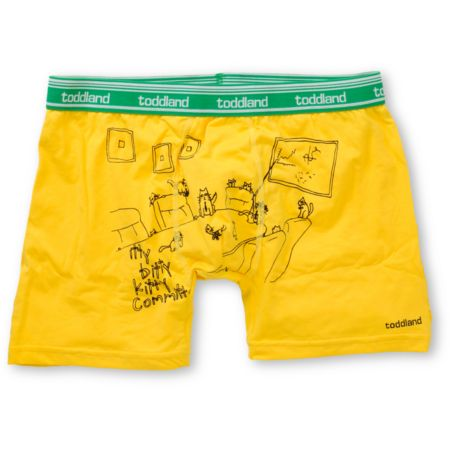 Toddland Itty Bitty Kitty Committee Boxer Briefs