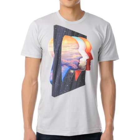 Imaginary Foundation Being There Silver Tee Shirt