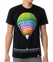 Imaginary Foundation Manifold Black Tee Shirt