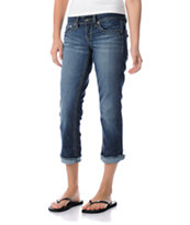 YMI Girls Melissa Cropped Jeans