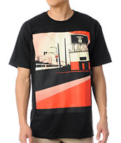 Obey San Diego Billboard Black Tee Shirt