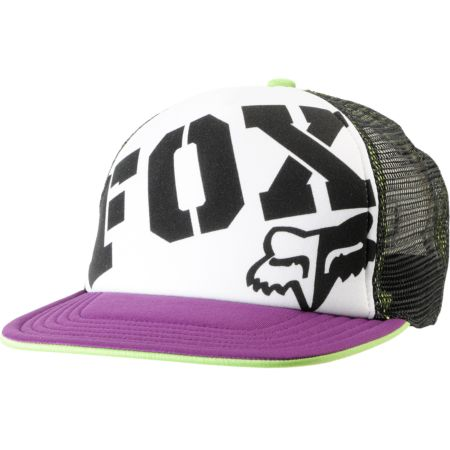 Fox Girls Fox Town Purple & Black Snapback Trucker Hat
