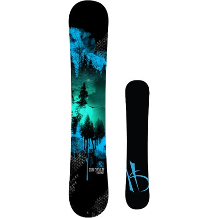 High Society Freeride Twilight 155cm Snowboard 2013
