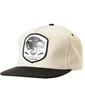REBEL8 Pantera 2-Tone Black Snapback Hat