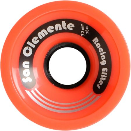 San Clemente Whirl Wind Red 72mm 78a Skateboard Wheels