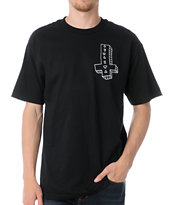 Odd Future Its Us Cross Black Tee Shirt