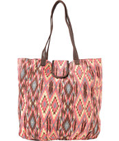 Super Trader Pink Tribal Tote Bag