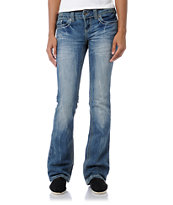 YMI Ashley Medium Blue Bootcut Jeans